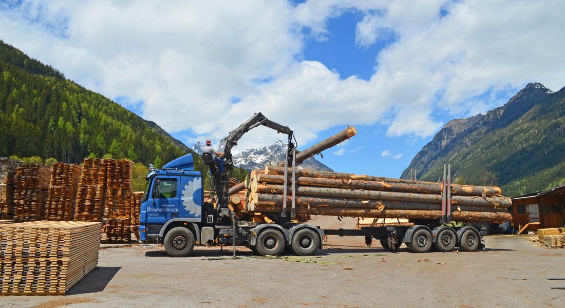 Holztransporte Bogensperger Lungau